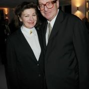 Lord Saatchi and his wife Josephine, who died in June 2011.